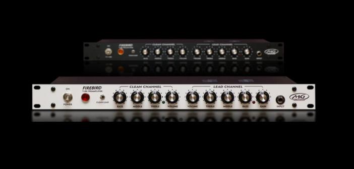 Nowosć MG Amps – Firebird Rack Preamp