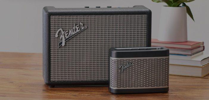 Fender Monterey i Newport – nowe głośniki Bluetooth