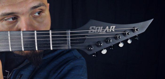 CTG TV #104 – Solar Guitars A2.6C Carbon Matte – recenzja i porównanie