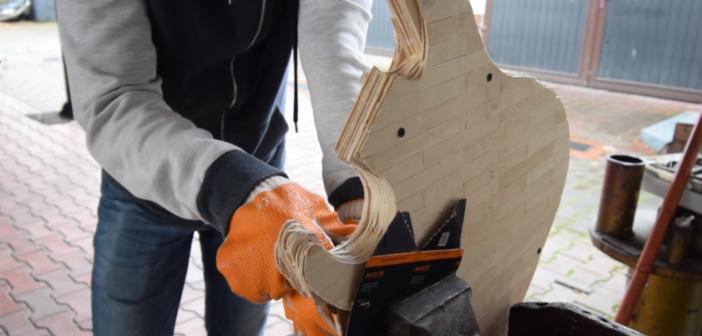 Gitara laryngologiczna DIY z POLSKI!