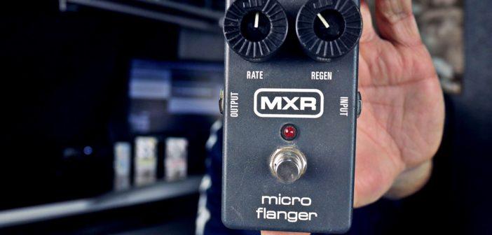 MXR Micro Flanger – recenzja odrzutowej zabawki!