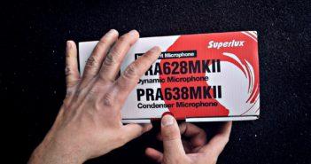Superlux PRA628MKII    Test mikrofonu   Porównanie do Shure SM57