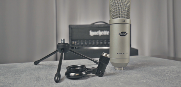 Crono Studio 101 USB, czyli czym nagrywać głos w filmach?